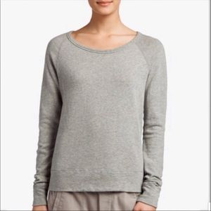 Standard James Perse Raglan Pullover Heather Gray